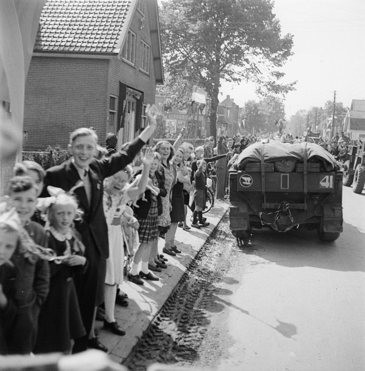 Tweede Wereldoorlog Canadezen Bevrijding Utrecht