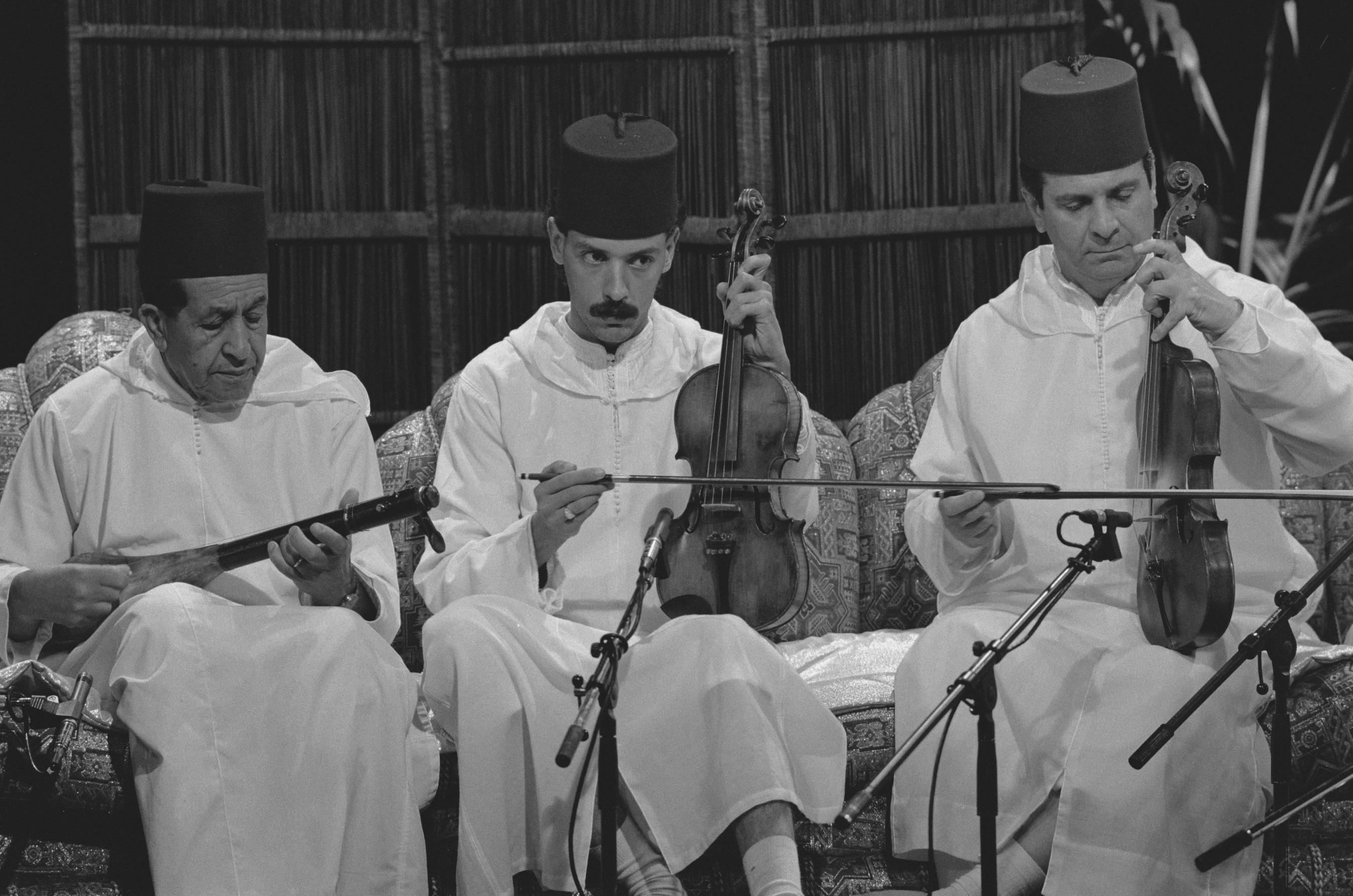 Musici Marokko in televisieprogramma Paspoort