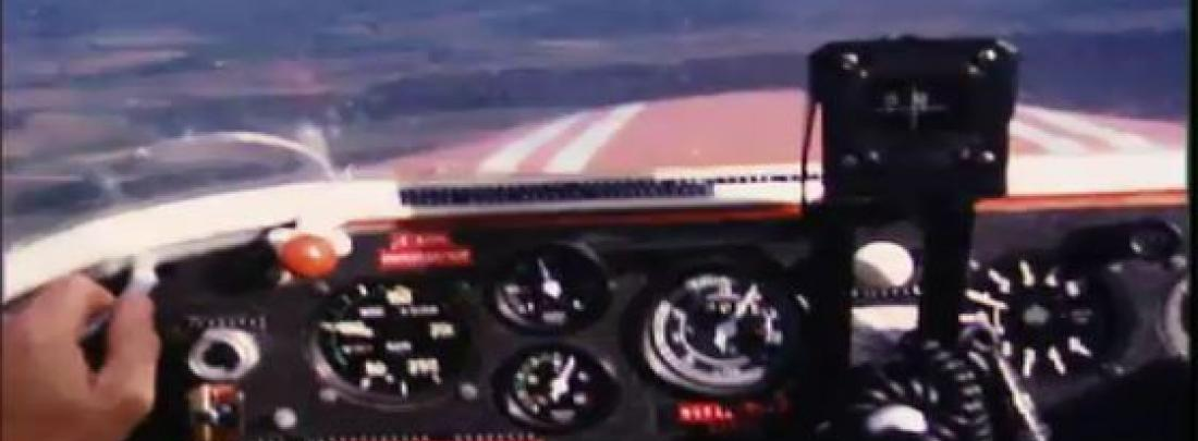 cockpit uit Holiday in air Vladimir Murtin