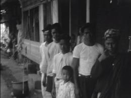 kinderen in Nederlands-Indië - still uit een film van een onbekende maker