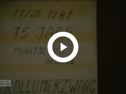 Keyframe of 75 jaar plaatselijk belang Kollumerzwaag, 1981