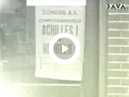 Keyframe of AV2041 Voetbalwedstrijd Achilles I - Hengelo I 1957; G.W. Poiesz; 1957