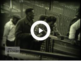 Keyframe of Emigranten vertrekken naar Australië, Oktober 1950