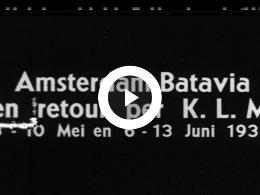 Keyframe of AMSTERDAM-BATAVIA EN RETOUR PER KLM - deel 1