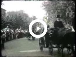 Keyframe of AV2133 DABO film 2; Vermoedelijk de heer Lambers, destijds directeur van de DABO; jaren '30 of '40