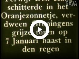 Keyframe of Huwelijk prinses Juliana. Viering te Groningen / Haijer & Mees, 2-9 januari 1937