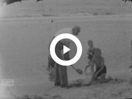 Keyframe of Bergen aan Zee; Berdorf ; Oberstdorf, 1950-1955