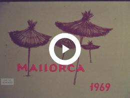 Keyframe of 40-jarig huwelijksfeest op Mallorca, 1969