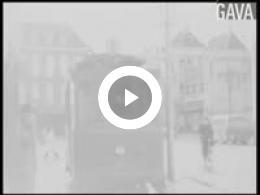 Keyframe of Tram in Groningen december 1949