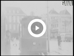 Keyframe of Tram in Groningen december 1949