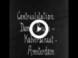 Keyframe of AMATEURFILMS ANTON BUURMAN VAN VREEDEN - Amsterdam