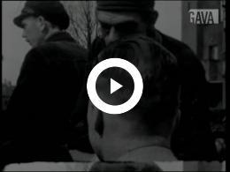 Keyframe of Bevrijding Usquert / J. Nicolaï, 20 april 1945