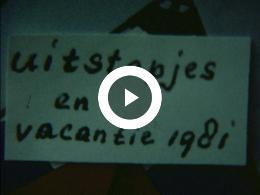 Keyframe of AMATEURFILMS FAMILIE KRANEN - VAKANTIE EN UITSTAPJES VAN FAMILIE KRANEN IN 1981