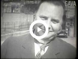 Keyframe of Veemarkt en familieopnamen David Moolenaar / David Moolenaar, 1930-1935