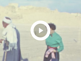 Keyframe of RESTMATERIAAL REISVERSLAG EGYPTE VAN H.A.O. HÄRSCHNITZ