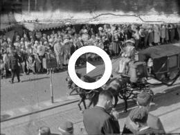 Keyframe of Familiefilms Schiethart - 1934/1935 O.A. BEGRAFENIS PRINS HENDRIK, DEN HAAG, TJEPOE