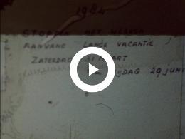 Keyframe of AMATEURFILMS FAMILIE KRANEN - 2 LANGE VAKANTIES FAMILIE KRANEN IN 1984