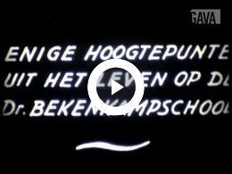 Keyframe of Hoogtepunten Bekenkampschool / C.R. Tiddens, 1955-1960