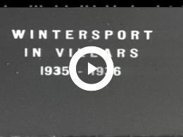 Keyframe of WINTERSPORT IN VILLARS 1935-1936 EN ZOMERVAKANTIE IN NEDERLAND