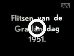 Keyframe of Flitsen van de graslanddag 1951