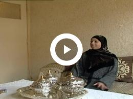 Keyframe of Marokkaanse Ghizlana Boucanna toont haar huis