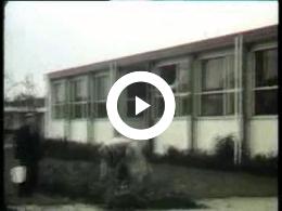 Keyframe of AV1920 Huishoudschool 'De Horizon'; Egbert Scholten 05-03-1934-22-02-2000 leerkracht HH scholen; vermoedelijk jaren '60