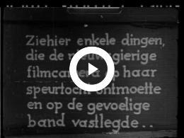 Keyframe of FILMSTUDIE 3/33 - EEN FILMFANTASIE VAN ZEEPWATER, ROOK EN...