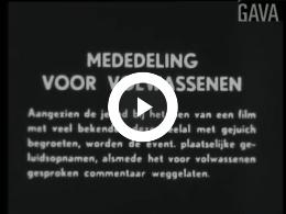 Keyframe of Dorpsfilm Marum, Hoe het hier reilt en zeilt, deel I / J.W.L. Adolfs, 1959