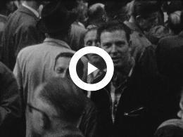Keyframe of 1948 OPENING STATEN-GENERAAL, FEESTVERLICHTING, INTOCHT KONINGIN