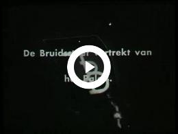 Keyframe of AV200 Oranjefeest; koningin (sic) Juliana en prins Bernhard 1936; deels vermoedelijk T. Bos en deels vermoedelijk Holland Filmfabriek; 1936-1937