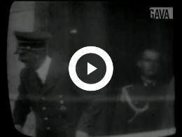 Keyframe of Bevrijdingsparade Canadezen / onbekend, 1945-1950