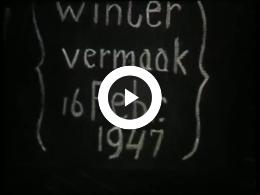 Keyframe of AV2078 Wintervermaak 16 februari 1947; Dirk Spijkerman; 1947
