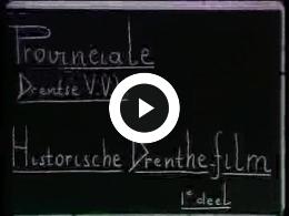Keyframe of AV131 Historische Drenthe-film, deel 1; J. Poortman; vermoedelijk  jaren '30 of '40