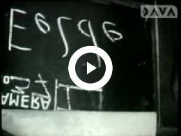 Keyframe of AV1613 Dorpsfilm Eelde/Paterswolde 1963, deel 1; J.W.L. Adolfs; 1963
