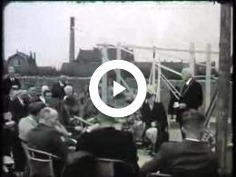 Keyframe of AV2137 DABO film 6; Vermoedelijk de heer Lambers, destijds directeur van de DABO; mogelijk jaren '30 of 40