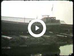 Keyframe of AV2141 DABO film 10; Vermoedelijk de heer Lambers, destijds directeur van de DABO; jaren '50