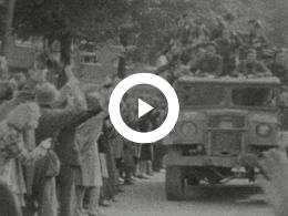 Keyframe of 1945 NEDERLAND BEVRIJD