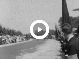 Keyframe of AMATEURFILMS JAN VAN DER KAM - BEGRAFENIS PRINS HENDRIK 1934; OLYMPISCHE SPELEN 1936 BERLIJN