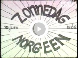 Keyframe of AV1433 Zonnedag Norg/ Een 1969; vermoedelijk Boerma; 10-06-1969