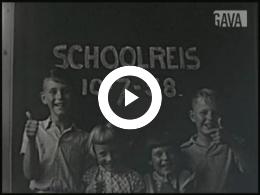 Keyframe of Schoolreizen en nieuwe leerlingen 1958 OBS Oudeschip