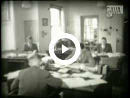 Keyframe of Dorpsfilm Wagenborgen 1956. Deel I