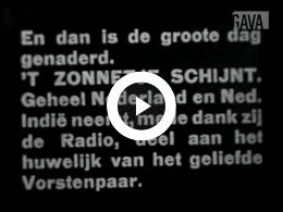 Keyframe of Huwelijk Prinses Juliana te Den Haag / P. Mulder, 1937