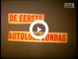 Keyframe of Autoloze Zondag / G. Streuper, 4 november 1973