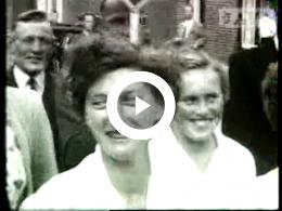 Keyframe of AV733 Dorpsfilm Borger 1953, deel 1.; J.W.L. Adolfs; 26-08-1953