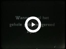 Keyframe of AV2135 DABO film 4; Vermoedelijk de heer Lambers, destijds directeur van de DABO; wellicht jaren '40 of '50