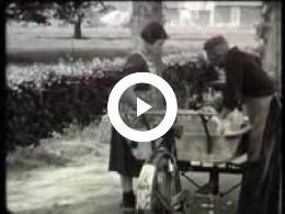 Keyframe of AV2562 Dorpsfilm Roderwolde I; J.W.L. Adolfs; 1956