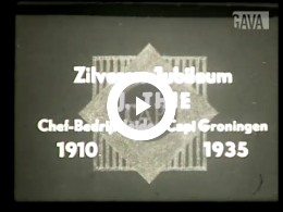 Keyframe of Zilveren jubileum Thie / onbekend, 1935