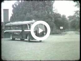 Keyframe of AV2139 DABO film 8; Vermoedelijk de heer Lambers, destijds directeur van de DABO; vermoedelijk jaren '50