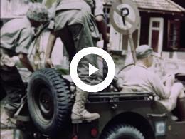 Keyframe of AMATEUROPNAMEN O.A. NEDERLANDS-INDIË - VELDTOCHT TEGEN INDIË 1948