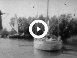 Keyframe of ZEILEN HOLLANDS DIEP, ZEELAND EN IJSSELMEER , DOMBURG, STATENDAM III 1939